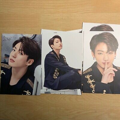 Jungkook BTS Official World Tour Love Speak Yourself The Final Seoul Photo Card