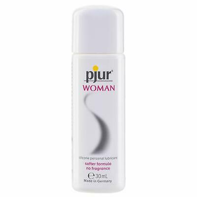Pjur Woman Body Glide Lubricant Sensitive Silicone Based Vaginal Anal Lube 30ml