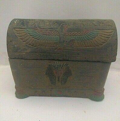 Rare Ancient Egyptian Antique Jewelry  Box 1357-1196 Bc (10)