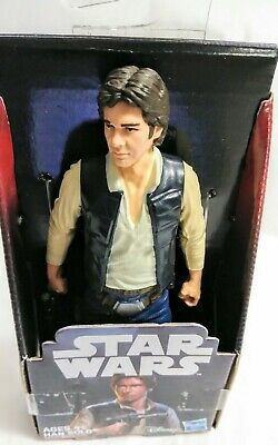 """DISNEY **SALE** STAR WARS HAN SOLO 6/"""" INCH A NEW HOPE NEW IN PACKAGE HASBRO"""