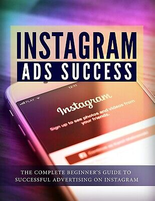 Instagram Ads Success Digital Book will be emailed to you