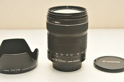 Used Canon EF-S 18-135mm f/3.5-5.6 IS STM Standard Zoom Lens Excellent Condition