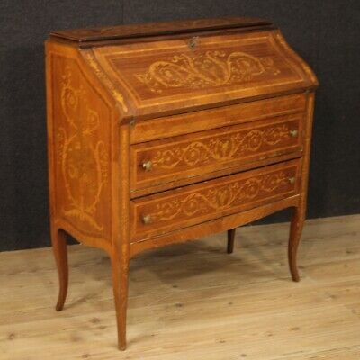 Fore Furniture Secrétaire Secretary Desk Wooden Inlaid Antique Style Dresser 900