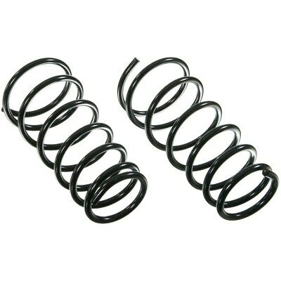 5385 Moog Set of 2 Coil Springs Rear New for Chevy Olds Coupe Sedan Malibu Pair