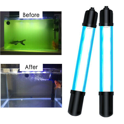 Submersible Aquarium Fish Tank Pond UV Sterilizer Water Clean Light Lamp HOT!