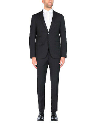 NEW £459 Domenico Tagliente Mens 100% Virgin Wool Suit UK36 IT46 Small Zara