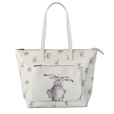 Wrendale Designs Hare Illustrated Everyday Bag - Mothers Day Gift Idea