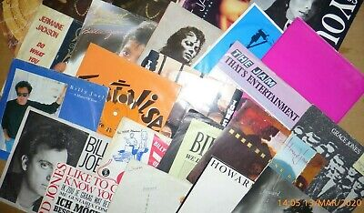 """For Sale – 60s/70s/80s/90s 45rpm 7"""" Vinyl Singles – only £2.50 each"""