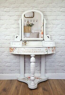 Victorian Duchess Style Dressing Table Console Table