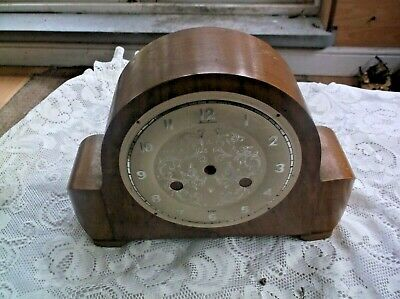 Small Mantle Clock Case (Wooden Case Only)For Restoration
