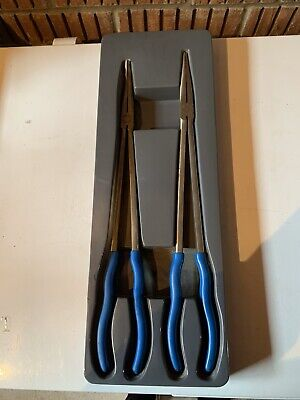 Blue Point sold by Snap On 2 pc Extra-Long Reach Needle Nose Pliers Set