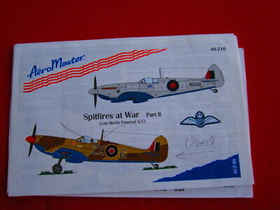 Aeromaster Decal 48-770 Seafires at War Pt.2