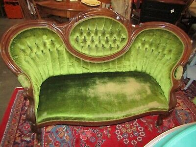 Antique French Provincial Loveseat 1900''s