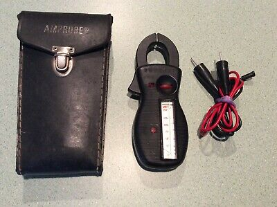 AMPROBE ULTRA ROTARY SCALE CLAMP-ON AMP/VOLTMETER Multimeter........