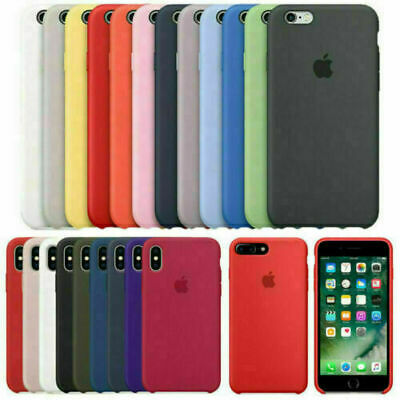 Original Genuina Case Funda Para Apple iPhone 6S 7 8 Plus X XR XS 11 Pro Max