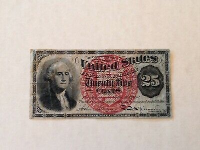Fr.1303 Fourth Issue 25 Cents Fractional Currency Note