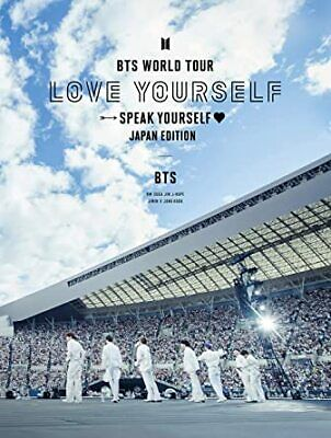 BTS - Blu-ray - 'LOVE YOURSELF SPEAK YOURSELF' JAPAN - FIRST LIMITED EDITION