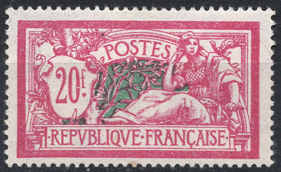 TIMBRE FRANCE année 1925/26 Type MERSON n°208 NEUF*