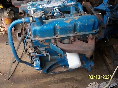 Ford Tractor 3000 Gas Engine 3 Cylinder