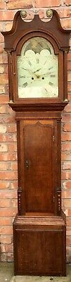 Antique Oak/ Mahogany Longcase Grandfather Tho's Lister Bromley Halifax