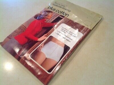 NEW NOS Vintage Sears Panty Moderate Shaping Ivory White Size L Large 29-30