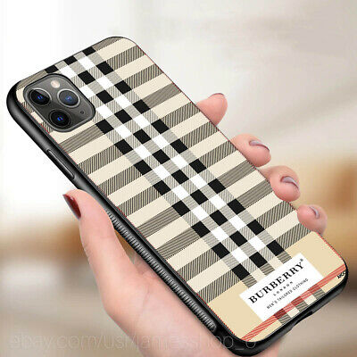 iphone 11 pro max case 7 8+ xr xs max case samsung S20+ S9 note 10+burberry7case