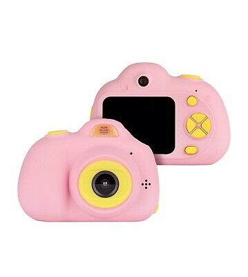 VANTOP Junior Kids Camera Pink With Lanyard, Carrying Case And Charging Cable