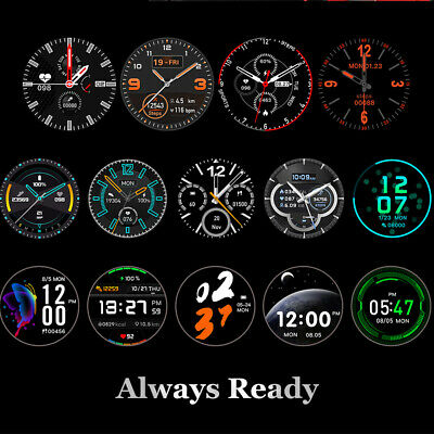 DT78 Smart Watch Fitness Tracker Heart Rate Monitor IP68 Waterproof Pedometer