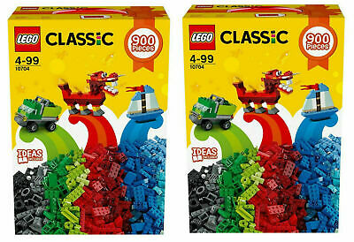 Lego 10704 Classic Large Creative Box X 2, Mixed Colors Sizes Bricks 1800 pieces