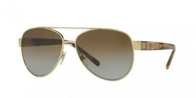 Burberry BE3084 Col 1145T5 Polarized Sunglasses  57-14-140