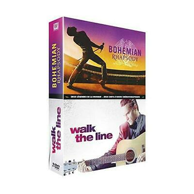 DVD Neuf - Bohemian Rhapsody + Walk The Line