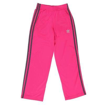 Girls adidas Originals Tracksuit Bottoms Track Pant Pink Junior NEW