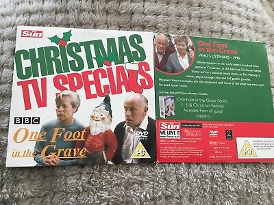 ONE FOOT IN THE GRAVE CHRISTMAS SPECIAL DVD 1990 Classic TV