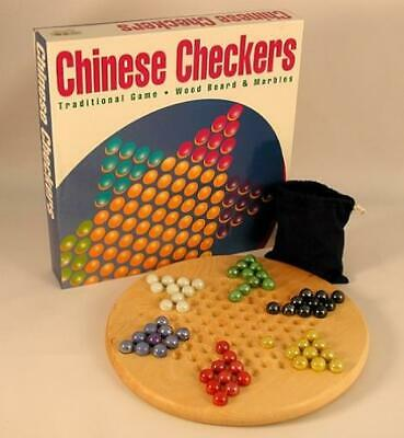 Worldwise Checkers WorldWise Imp Chinese Checkers w/Wood Board and Mar Box MINT