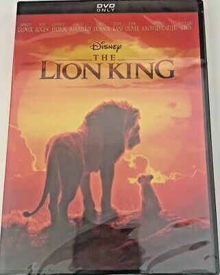 Disney's: The Lion King DVD (Live Action, 2019, Brand New) Free Ship