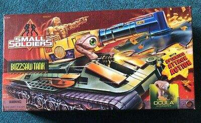 Small Soldiers Movie Buzzsaw Tank With Exclusive Ocula Figure MISB