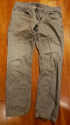 DKNY Williamsburg Fit Gray Jeans Mens Denim Sz  32 x 30 Very nice Fast shipping!