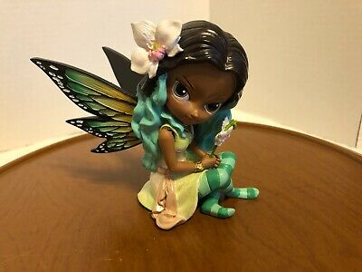Wings of Passion Butterfly Virtues Ebony Fairy Figurine Jasmine Becket-Griffith