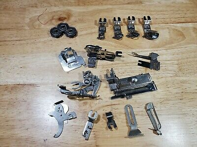 Lot of Vintage Greist Sewing Machine Attachments & Accessories