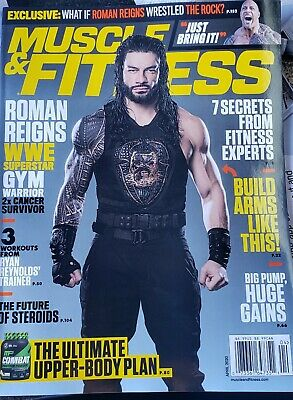 Muscle & Fitness Magazine April 2020 Brand New No Mailing Labels