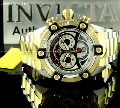 Invicta Men 63mm Reserve Grand ARSENAL Swiss 8040.N Chrono 2T Stainless St.Watch