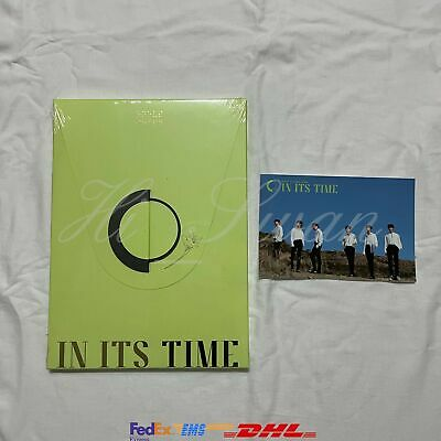 [Oneus] - In Its Time 1St Single Album With Bizent Pre-Order Gift + Poster