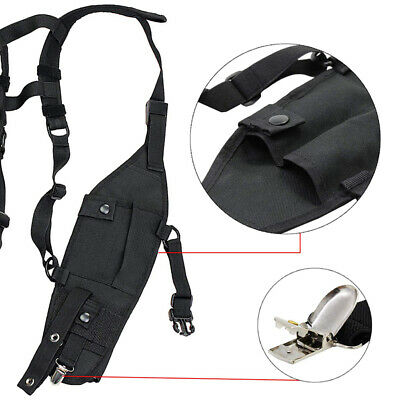 Universal Hands Free Chest Harness Bag Holster for Walkie talkie.