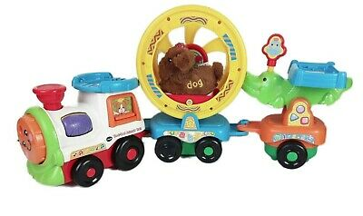 Vtech Toot Toot Animals Train Toy and Toot Toot Dog
