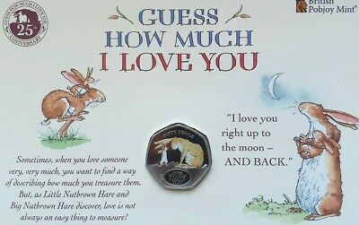 2020 BU Gibraltar 50p Coin Guess How Much I Love You Low (SOLD OUT  AT MINT).