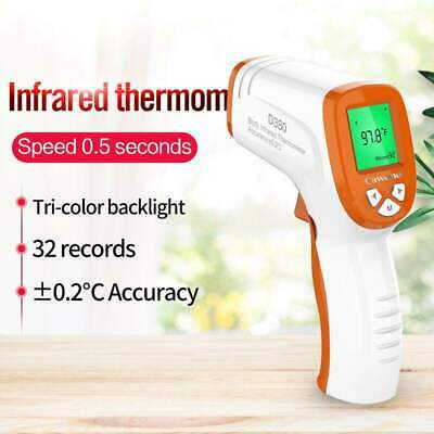 Baby LCD Digital Measure Thermometer Medical Body Infrared Accurate Ear Forehead