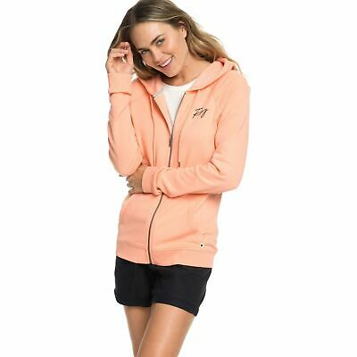 ROXY Take Me Back Womens Ladies Hoodie | Salmon Pink - Size XS
