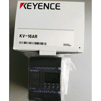 USED ONE KEYENCE PLC KV-16AR