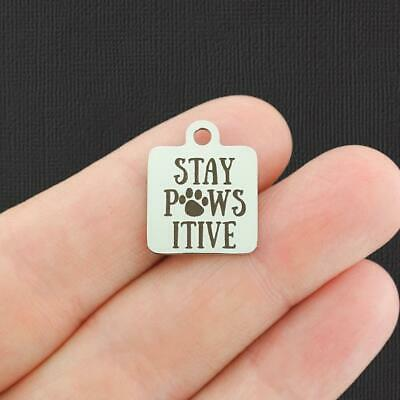 Stay Salty Stainless Steel Charms Quantity Options Exclusive Line BFS3448