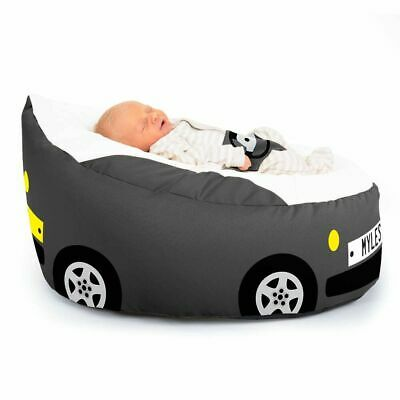 Gaga™ Racing Car Baby Beanbag - Washable - Pre-Filled - Personalise With Name